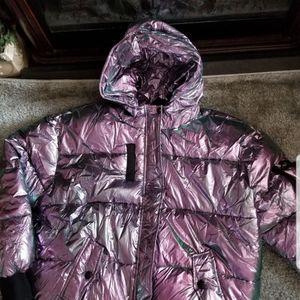 Fashion Nova Jackets & Coats - Metallic puffer coat 1X